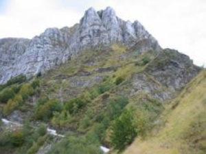 Monte Corchia, dal canaletto del Pirosetto