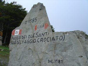 SENTIERO ITALIA  – DA ZUM ZERI AL PASSO  CENTO CROCI